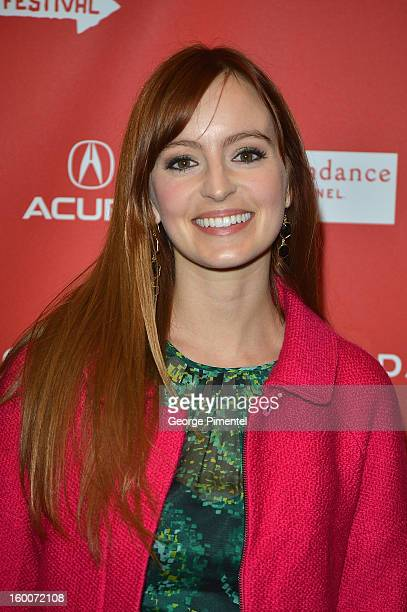 Actress Ahna O'Reilly attends the 'jOBS' Premiere during the 2013 Sundance Film Festival at Eccles Center Theatre on January 25 2013 in Park City Utah