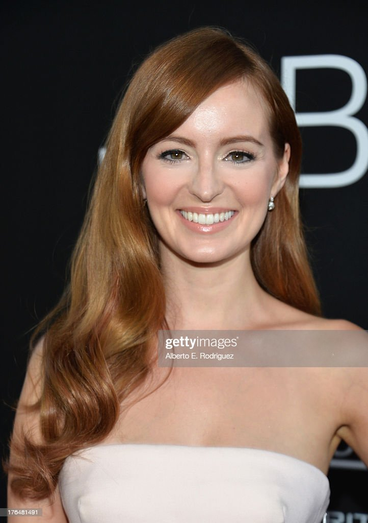 Actress Ahna O'Reilly attends the screening of Open Road Films and Five Star Feature Films' 'Jobs' at Regal Cinemas L.A. Live on August 13, 2013 in Los Angeles, California.