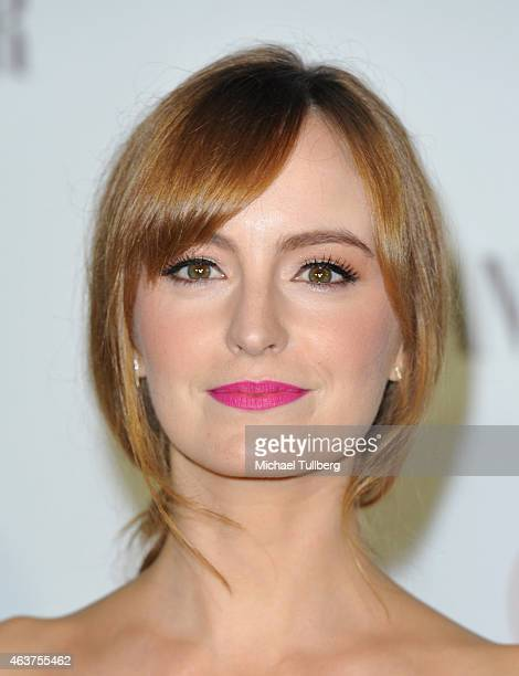 Actress Ahna O'Reilly attends the Vanity Fair And Fiat Toast To 'Young Hollywood' in support of the Terrence Higgins Trust at No Vacancy on February...