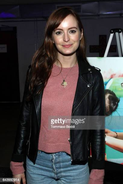 Actress Ahna O'Reilly attends The World Wide Orphans Foundation Annual Night Of Play Charity Event In Los Angeles at UCB Sunset Theater on February...