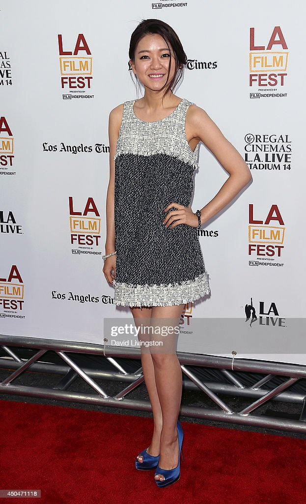 Actress Ah-sung Ko attends the 2014 Los Angeles Film Festival opening night premiere of 'Snowpiercer' at Regal Cinemas L.A. Live on June 11, 2014 in Los Angeles, California.