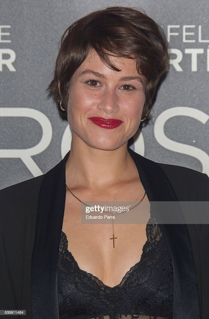 Actress <a gi-track='captionPersonalityLinkClicked' href=/galleries/search?phrase=Aida+Folch&family=editorial&specificpeople=3912069 ng-click='$event.stopPropagation()'>Aida Folch</a> attends the 'Nuestros Amantes' premiere at Palafox cinema on May 30, 2016 in Madrid, Spain.