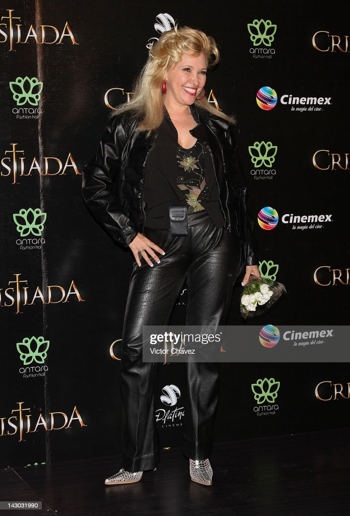 Actress Aida Pierce attends the 'For Greater Glory (Cristiada)' Mexico City Premiere at Cinemex Antara Polanco on April 17, 2012 in Mexico City, Mexico.