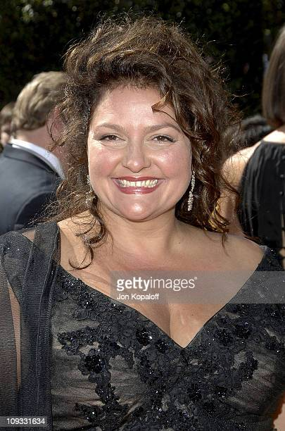 Actress Aida Turturro arrives at the 59th Primetime EMMY Awards at the Shrine Auditorium on September 16 2007 in Los Angeles California