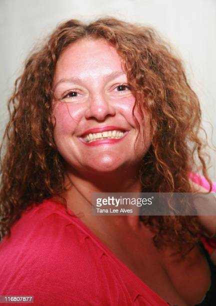 Actress Aida Turturro visits the Hampton SOCIAL @Ross Performance by Dave Matthews Band at the Ross School July 28 2007 in East Hampton New York