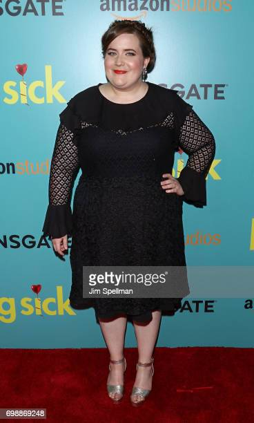 Actress Aidy Bryant attends 'The Big Sick' New York premiere at The Landmark Sunshine Theater on June 20 2017 in New York City