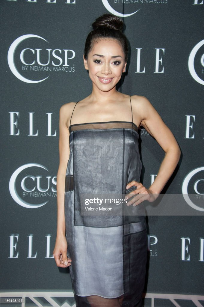 Actress <a gi-track='captionPersonalityLinkClicked' href=/galleries/search?phrase=Aimee+Garcia&family=editorial&specificpeople=561569 ng-click='$event.stopPropagation()'>Aimee Garcia</a> arrives at ELLE's 5th Annual Women In Music Concert Celebration Presented by CUSP By Neiman Marcus at Avalon on April 22, 2014 in Hollywood, California.