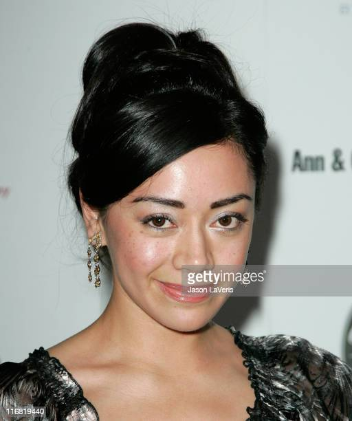 Actress Aimee Garcia at The 29th Annual 'The Gift of Life' Gala at the Century Plaza Hotel on May 18 2008 in Los Angeles California