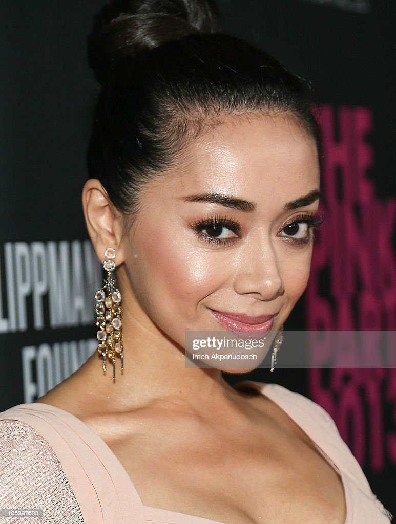 Actress <a gi-track='captionPersonalityLinkClicked' href=/galleries/search?phrase=Aimee+Garcia&family=editorial&specificpeople=561569 ng-click='$event.stopPropagation()'>Aimee Garcia</a> attends FIJI Water at the 9th Annual Pink Party Benefiting The Cedars-Sinai Women's Cancer Program at