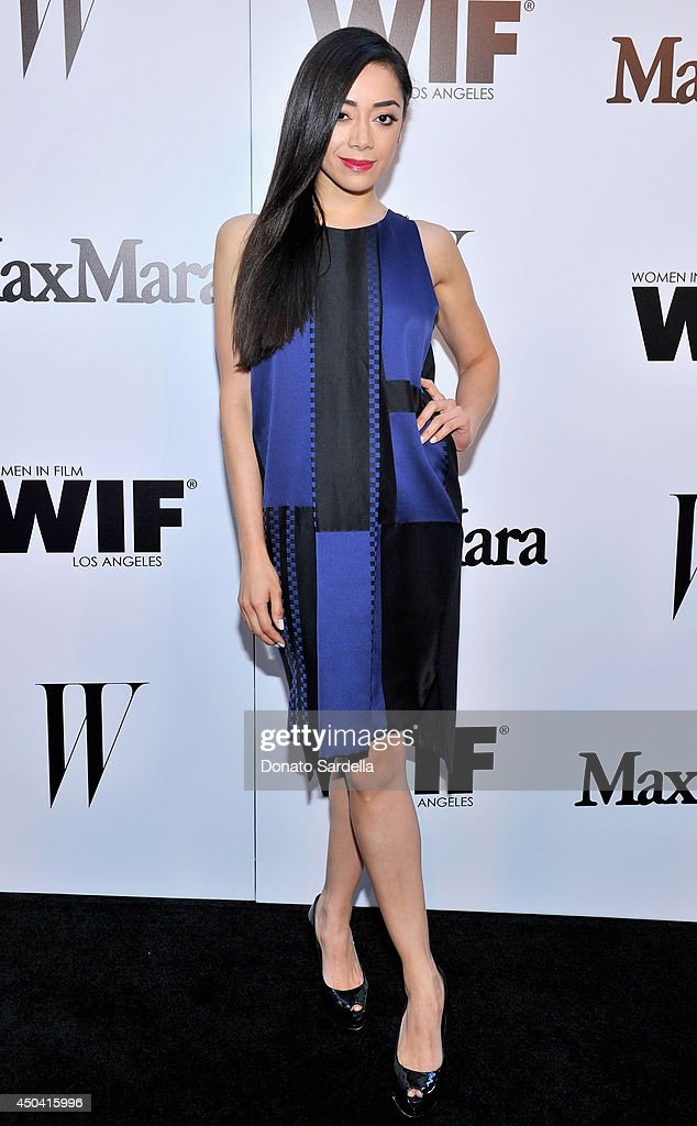Actress <a gi-track='captionPersonalityLinkClicked' href=/galleries/search?phrase=Aimee+Garcia&family=editorial&specificpeople=561569 ng-click='$event.stopPropagation()'>Aimee Garcia</a> attends MaxMara And W Magazine Cocktail Party To Honor The Women In Film MaxMara Face Of The Future, Rose Byrne at Chateau Marmont on June 10, 2014 in Los Angeles, California.