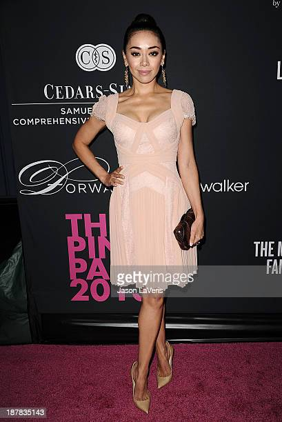 Actress Aimee Garcia attends the 2013 Pink Party at Hangar 8 on October 19 2013 in Santa Monica California