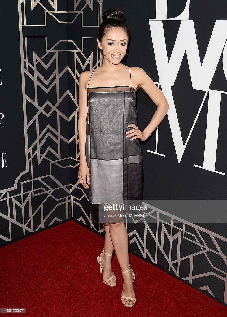 Actress Aimee Garcia attends the 5th Annual ELLE Women in Music Celebration presented by CUSP by Neiman Marcus. Hosted by ELLE Editor-in-Chief Robbie Myers with performances by Sarah McLachlan, Angel Haze and Betty Who, with special DJ set by Rumer Willis at Avalon on April 22, 2014 in Hollywood, California.