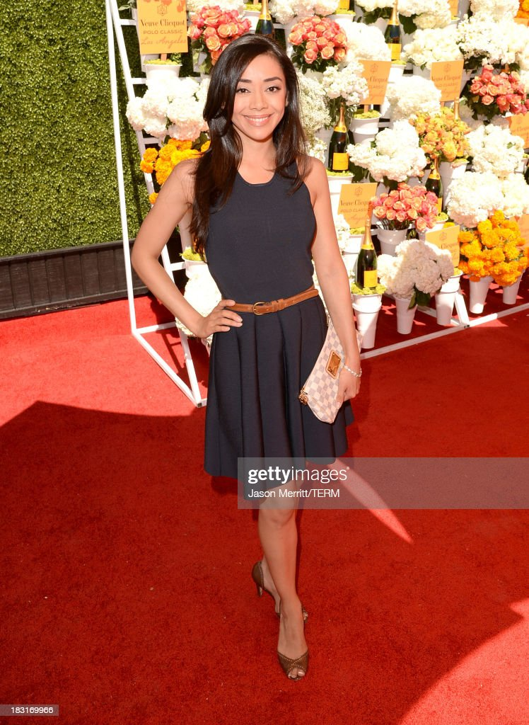 Actress Aimee Garcia attends The Fourth-Annual Veuve Clicquot Polo Classic, Los Angeles at Will Rogers State Historic Park on October 5, 2013 in Pacific Palisades, California.