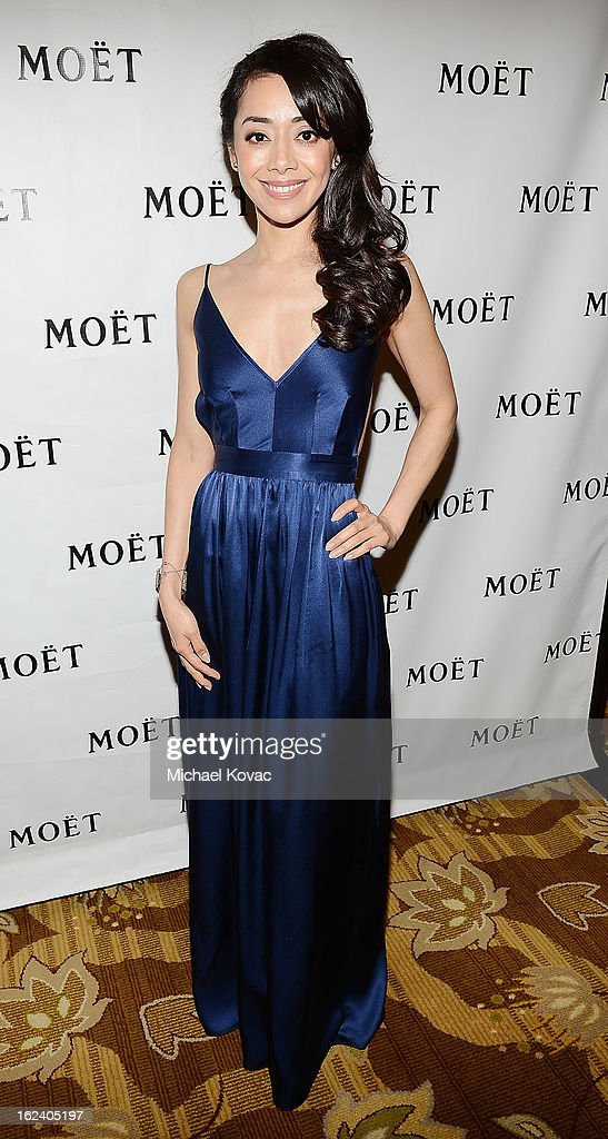 Actress Aimee Garcia attends The National Hispanic Media Coalition Impact Awards sponsored by Moet & Chandon at the Beverly Wilshire Four Seasons Hotel on February 22, 2013 in Beverly Hills, California.