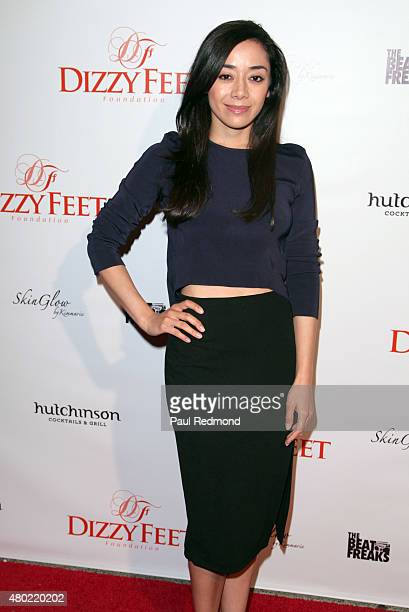 Actress Aimee Garcia attends the Red Carpet Celebration of 'Magic Mike XXL' at Hutchinson Cocktails Grill on July 9 2015 in West Hollywood California