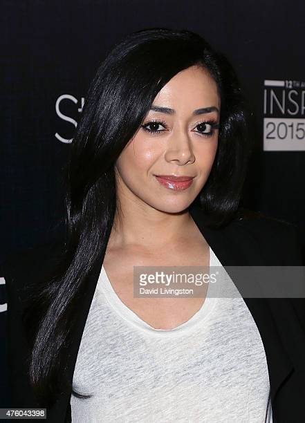 Actress Aimee Garcia attends the Step Up Women's Network 12th Annual Inspiration Awards at The Beverly Hilton Hotel on June 5 2015 in Beverly Hills...