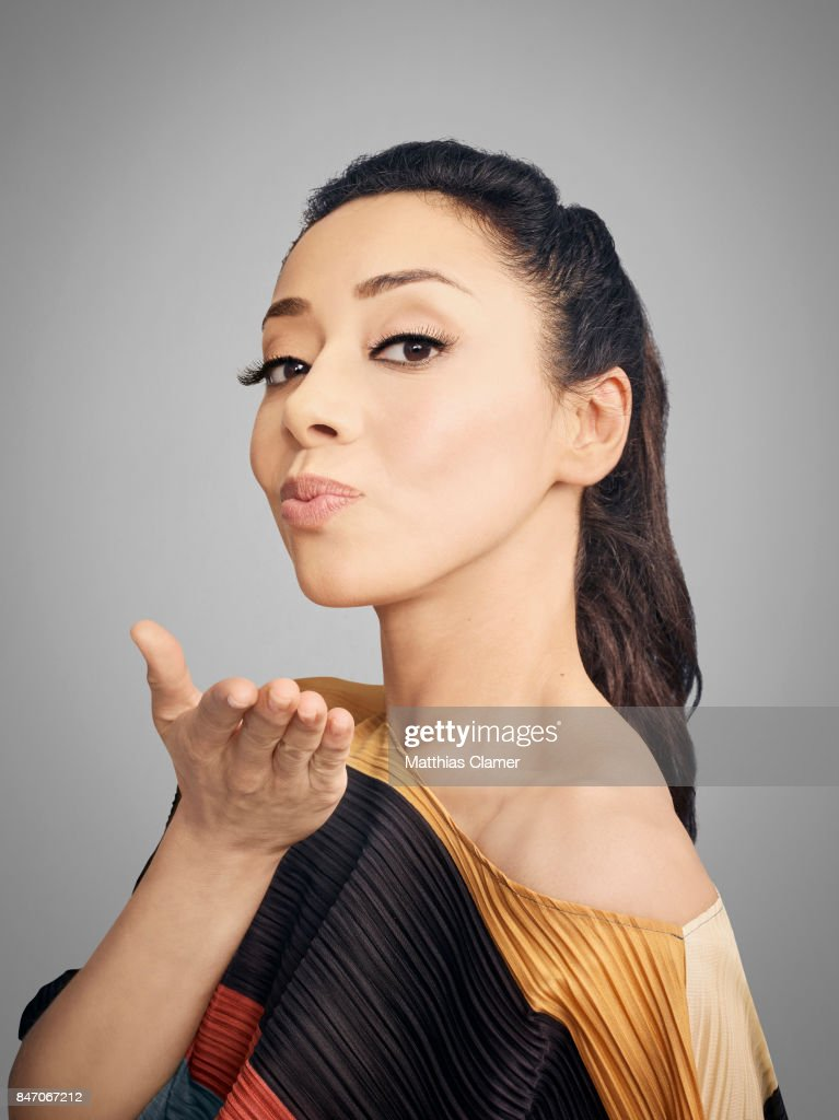 Actress Aimee Garcia from 'Lucifer' is photographed for Entertainment Weekly Magazine on July 23, 2016 at Comic Con in the Hard Rock Hotel in San Diego, California.