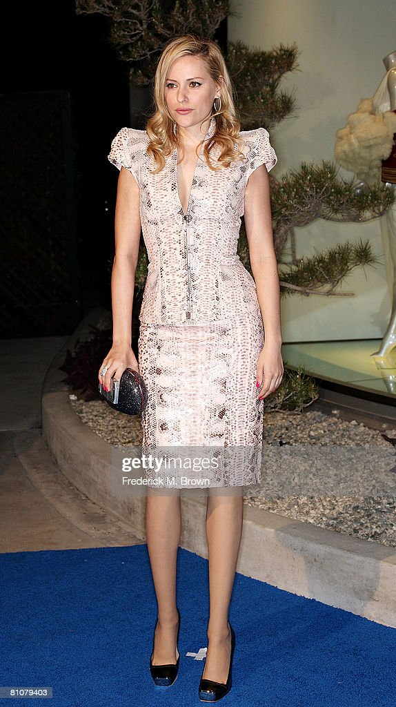 Actress Aimee Mullins attends the Launch of Alexander McQueen's Flagship Boutique on May 13, 2008 in Los Angeles, California.