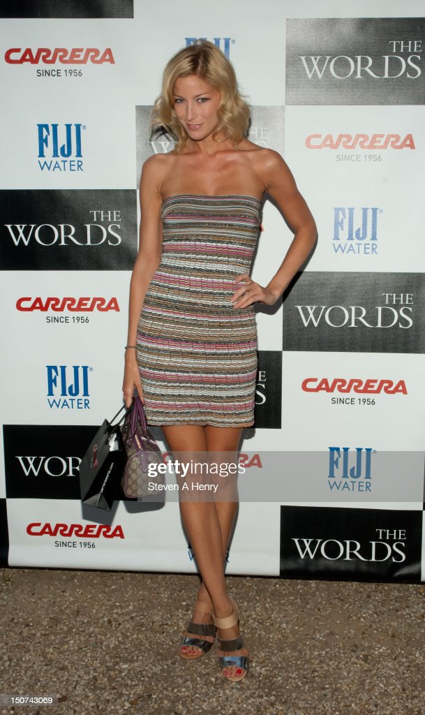 Actress Aimee Ruby attends 'The Words' screening at Goose Creek on August 25, 2012 in East Hampton, New York.