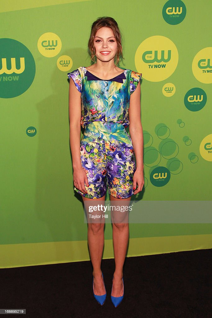 Actress Aimee Teagarden attends The CW Network's New York 2013 Upfront Presentation at The London Hotel on May 16, 2013 in New York City.