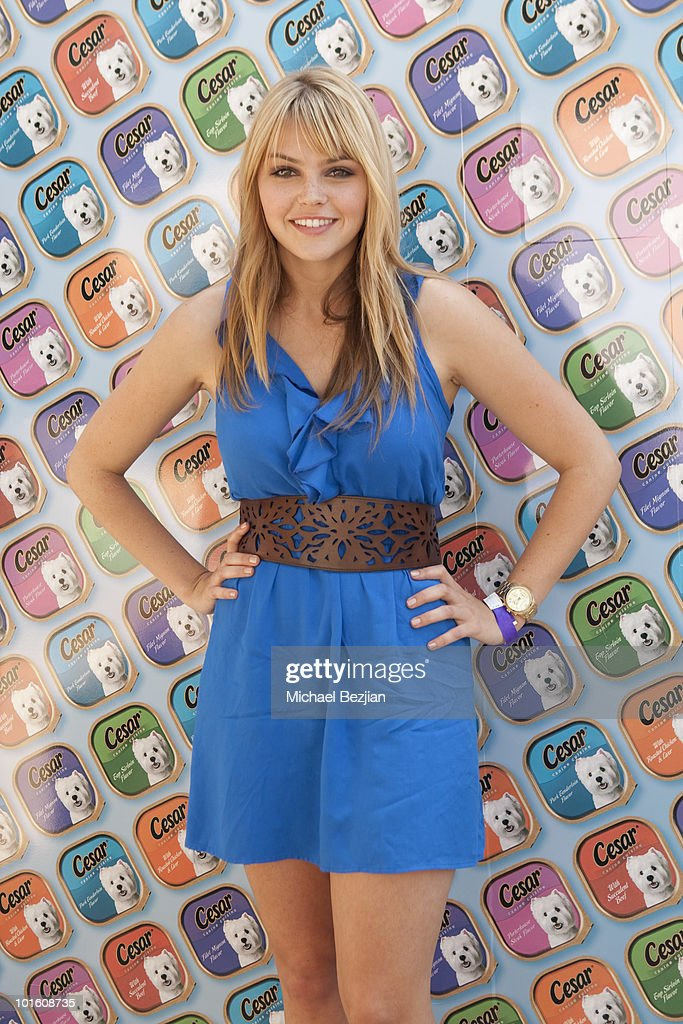 Actress Aimee Teegarden attends Cesar Canine Cuisine at Kari Feinstein MTV Movie Awards Style LoungeDay 1 at Montage Beverly Hills on June 3 2010 in...