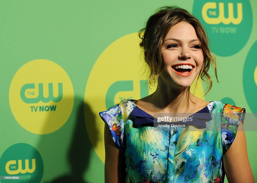 Actress Aimee Teegarden attends The CW Network's New York 2013 Upfront Presentation at The London Hotel on May 16, 2013 in New York City.