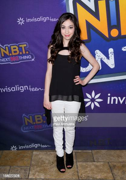 Actress Ainsley Bailey attends the Radio Disney's 'NBT' season five winner announcements at The Americana at Brand on December 8 2012 in Glendale...