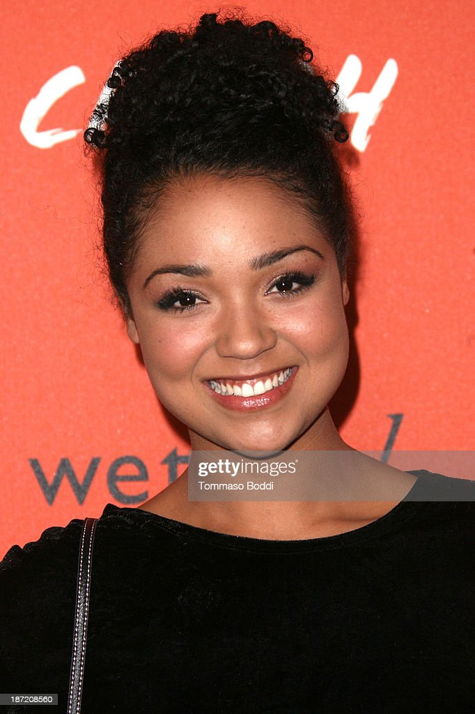 Actress Aisha Dee attends the 'Crush' By ABC Family Fashion launch held at The London Hotel on November 6, 2013 in West Hollywood, California.