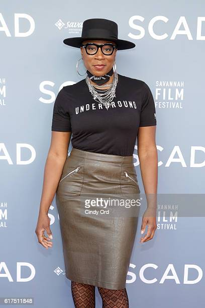 Actress Aisha Hinds attends the 19th Annual Savannah Film Festival presented by SCAD Day 2 on October 23 2016 in Savannah Georgia