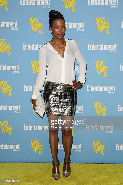 Actress Aisha Tyler arrives at Entertainment Weekly's ComicCon celebration at Float at Hard Rock Hotel San Diego on July 14 2012 in San Diego...