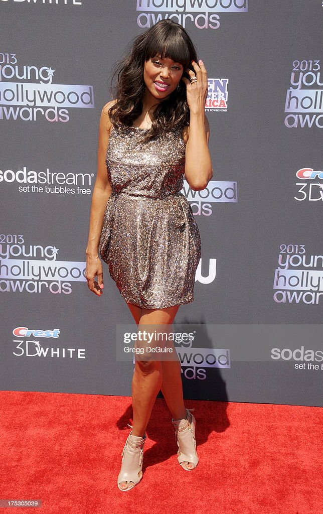 Actress Aisha Tyler arrives at the 15th Annual Young Hollywood Awards at The Broad Stage on August 1, 2013 in Santa Monica, California.