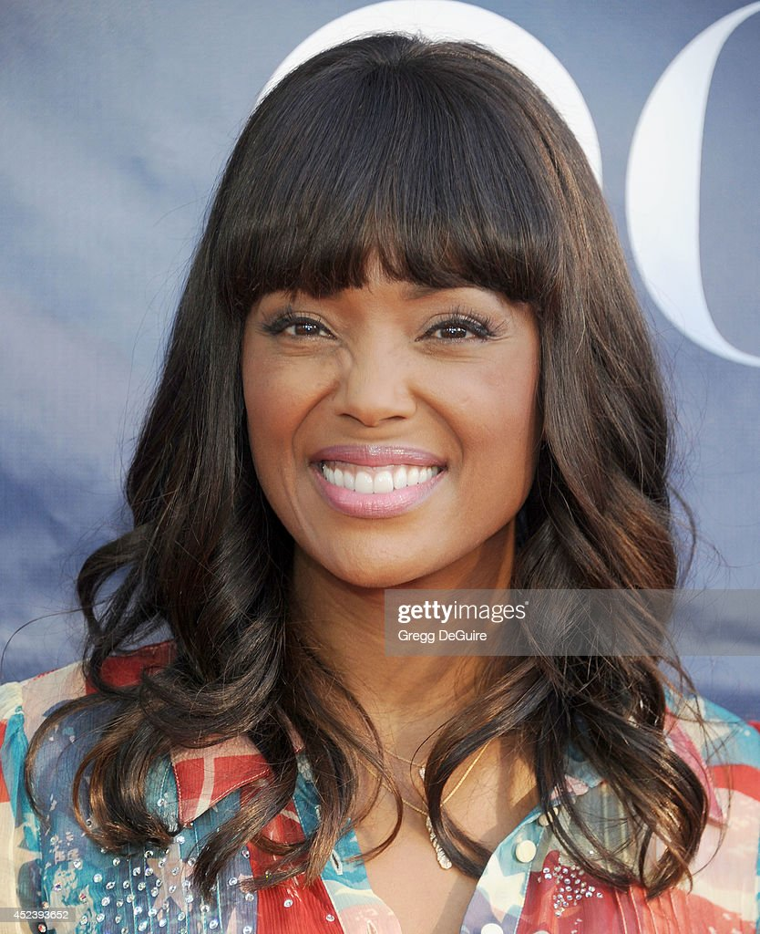 Actress <a gi-track='captionPersonalityLinkClicked' href=/galleries/search?phrase=Aisha+Tyler&family=editorial&specificpeople=202262 ng-click='$event.stopPropagation()'>Aisha Tyler</a> arrives at the 2014 Television Critics Association Summer Press Tour - CBS, CW And Showtime Party at Pacific Design Center on July 17, 2014 in West Hollywood, California.