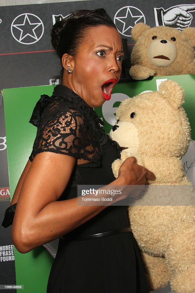 Actress Aisha Tyler arrives at Variety's 3rd annual Power of Comedy event presented by Bing benefiting the Noreen Fraser Foundation held at Avalon on November 17, 2012 in Hollywood, California. The Ted Blu-ray and DVD will be released on December 11, 2012.
