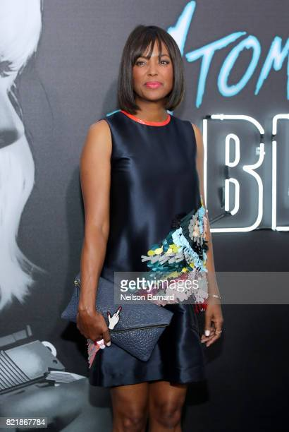 Actress Aisha Tyler attends Focus Features' 'Atomic Blonde' premiere at The Theatre at Ace Hotel on July 24 2017 in Los Angeles California