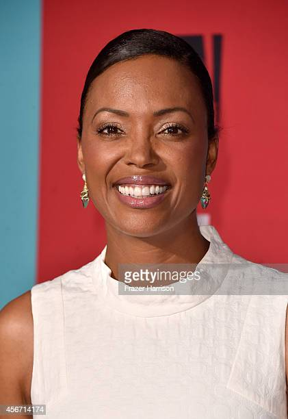 Actress Aisha Tyler attends FX's 'American Horror Story Freak Show' premiere screening at TCL Chinese Theatre on October 5 2014 in Hollywood...