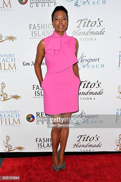 Actress Aisha Tyler attends the 17th annual Newport Beach Film Festival opening night premiere of 'After The Reality' at Lido Live Theater on April...