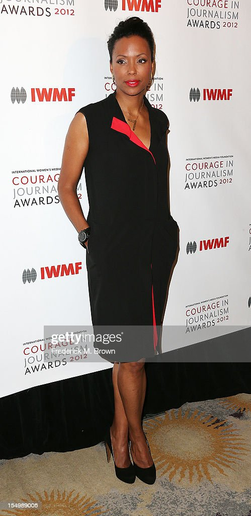Actress Aisha Tyler attends the 2012 International Women's Media Foundation's Courage In Journalism Awards at The Beverly Hills Hotel on October 29, 2012 in Beverly Hills, California.