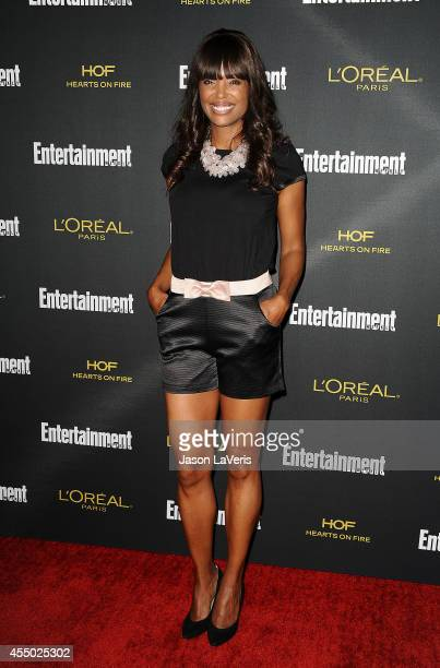 Actress Aisha Tyler attends the 2014 Entertainment Weekly preEmmy party at Fig Olive Melrose Place on August 23 2014 in West Hollywood California
