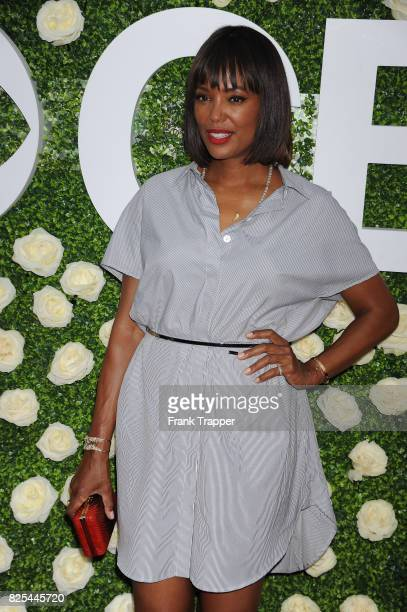 Actress Aisha Tyler attends the 2017 Summer TCA Tour CBS Television Studios' Summer Soiree at CBS Studios Radford on August 1 2017 in Studio City...