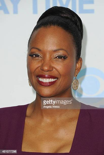Actress Aisha Tyler attends the 41st Annual Daytime Emmy Awards CBS after party at The Beverly Hilton Hotel on June 22 2014 in Beverly Hills...