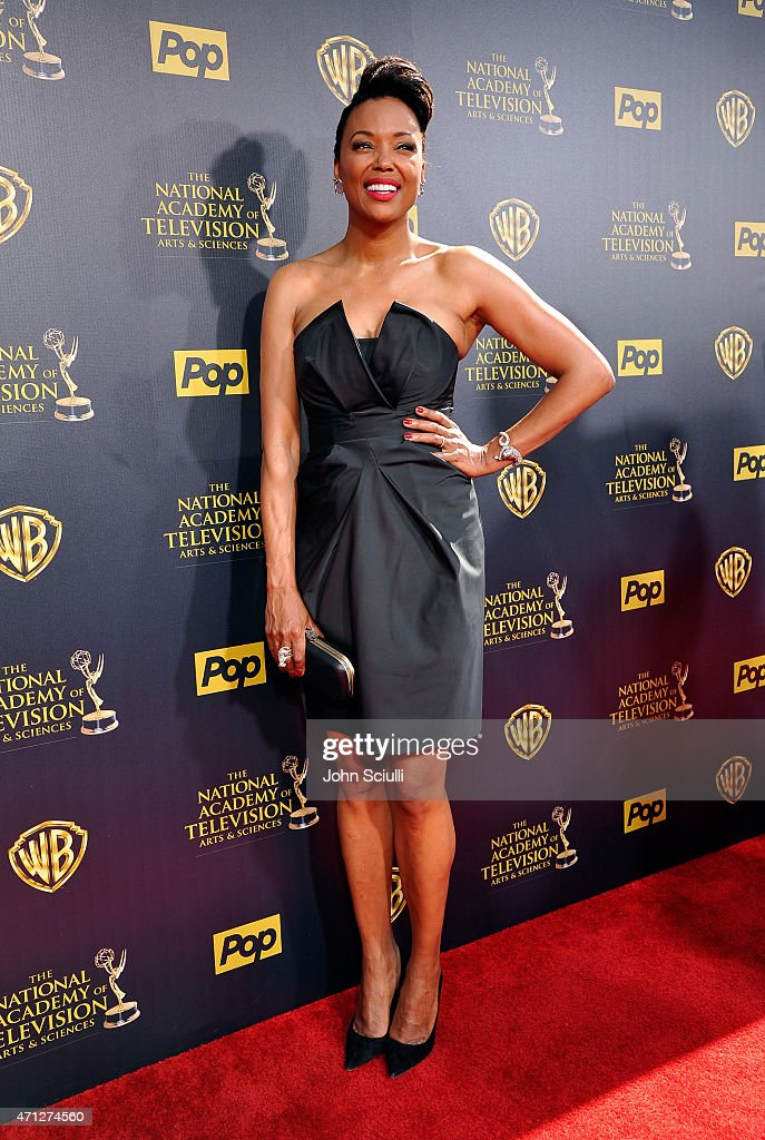 Actress Aisha Tyler attends The 42nd Annual Daytime Emmy Awards at Warner Bros Studios on April 26 2015 in Burbank California