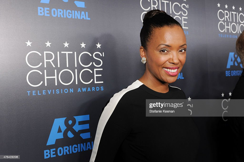 Actress <a gi-track='captionPersonalityLinkClicked' href=/galleries/search?phrase=Aisha+Tyler&family=editorial&specificpeople=202262 ng-click='$event.stopPropagation()'>Aisha Tyler</a> attends the 5th Annual Critics' Choice Television Awards at The Beverly Hilton Hotel on May 31, 2015 in Beverly Hills, California.