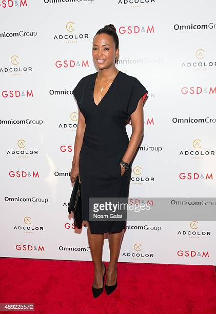 Actress Aisha Tyler attends the 9th Annual ADCOLOR Awards at Pier Sixty at Chelsea Piers on September 19 2015 in New York City