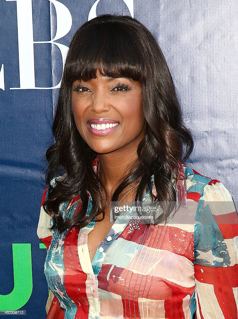Actress <a gi-track='captionPersonalityLinkClicked' href=/galleries/search?phrase=Aisha+Tyler&family=editorial&specificpeople=202262 ng-click='$event.stopPropagation()'>Aisha Tyler</a> attends the CBS, The CW, Showtime & CBS Television Distribution's 2014 TCA Summer Press Tour Party at Pacific Design Center on July 17, 2014 in West Hollywood, California.