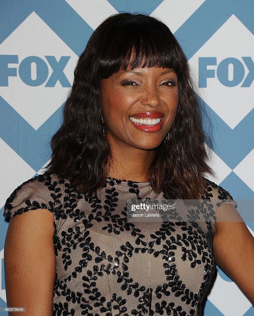 Actress <a gi-track='captionPersonalityLinkClicked' href=/galleries/search?phrase=Aisha+Tyler&family=editorial&specificpeople=202262 ng-click='$event.stopPropagation()'>Aisha Tyler</a> attends the FOX All-Star 2014 winter TCA party at The Langham Huntington Hotel and Spa on January 13, 2014 in Pasadena, California.