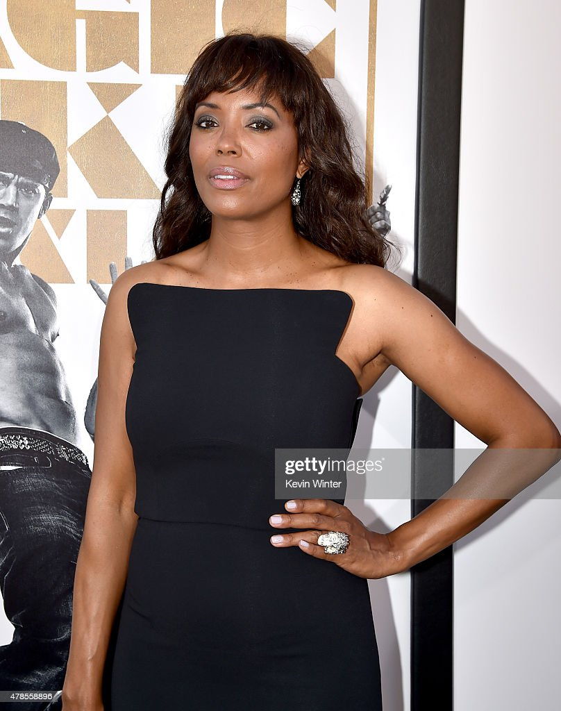 Actress <a gi-track='captionPersonalityLinkClicked' href=/galleries/search?phrase=Aisha+Tyler&family=editorial&specificpeople=202262 ng-click='$event.stopPropagation()'>Aisha Tyler</a> attends the premiere of Warner Bros. Pictures' 'Magic Mike XXL' at TCL Chinese Theatre IMAX on June 25, 2015 in Hollywood, California.