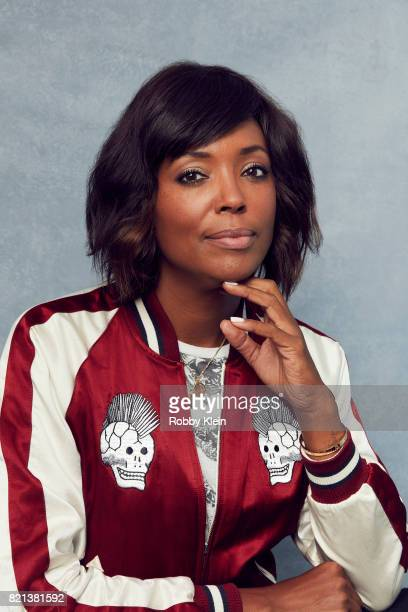 Actress Aisha Tyler from FX's 'Archer' poses for a portrait during ComicCon 2017 at Hard Rock Hotel San Diego on July 21 2017 in San Diego California