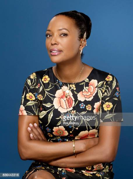 Actress Aisha Tyler is photographed for Los Angeles Times on June 19 2017 in Los Angeles California PUBLISHED IMAGE CREDIT MUST READ Kirk McKoy/Los...