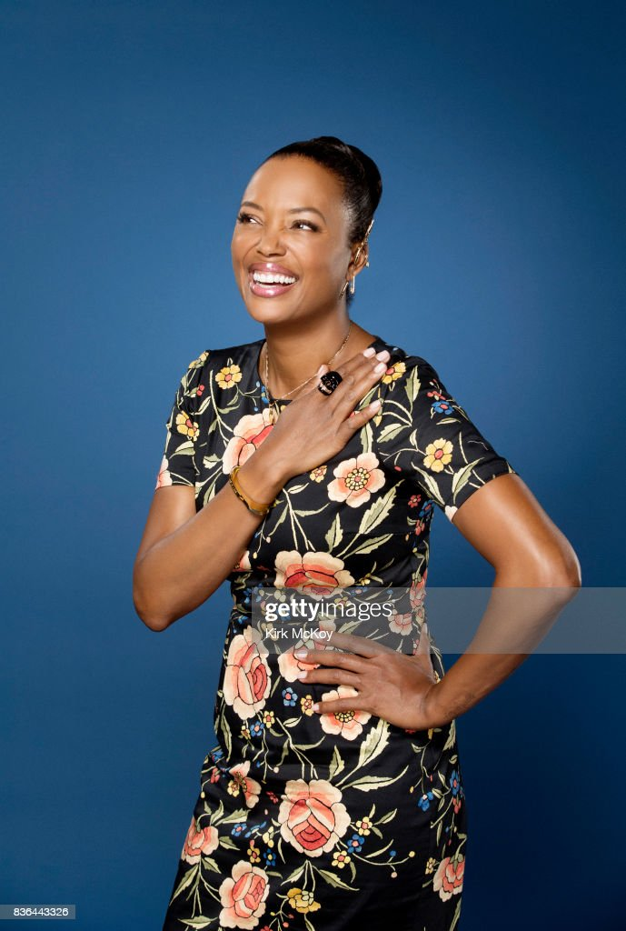 Actress Aisha Tyler is photographed for Los Angeles Times on June 19, 2017 in Los Angeles, California. PUBLISHED IMAGE.