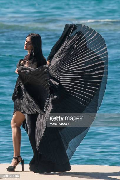 Actress Aishwarya Rai is spotted during the 70th annual Cannes Film Festival at on May 20 2017 in Cannes France